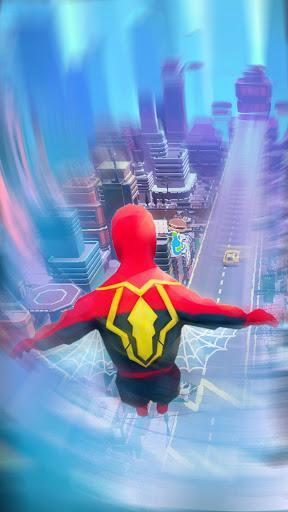 Super Heroes Fly: Sky Dance - Running Game - عکس بازی موبایلی اندروید