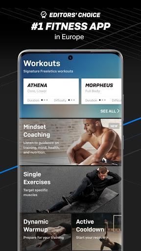 Freeletics Training Coach – تناسب اندام - عکس برنامه موبایلی اندروید