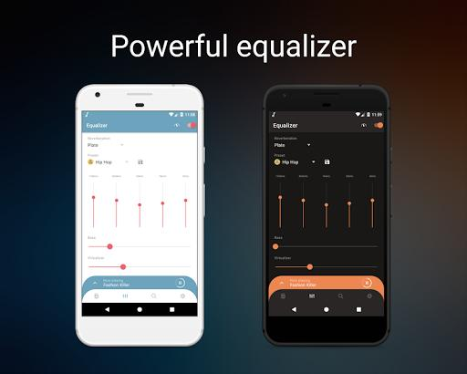 Frolomuse MP3 Player - Music Player & Equalizer - عکس برنامه موبایلی اندروید