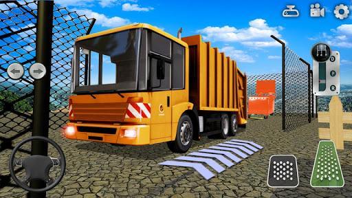 Offroad Garbage Truck Simulator Trash Truck Driver - عکس بازی موبایلی اندروید