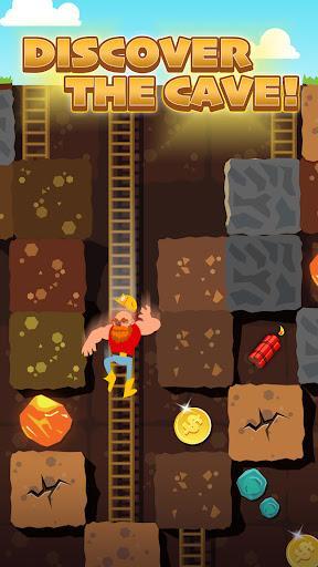 Gold Digger FRVR - Mine Puzzle - عکس بازی موبایلی اندروید