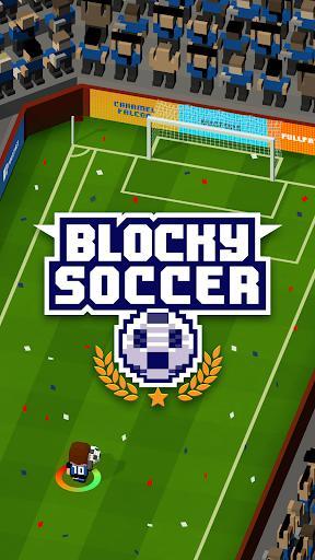 Blocky Soccer - عکس بازی موبایلی اندروید