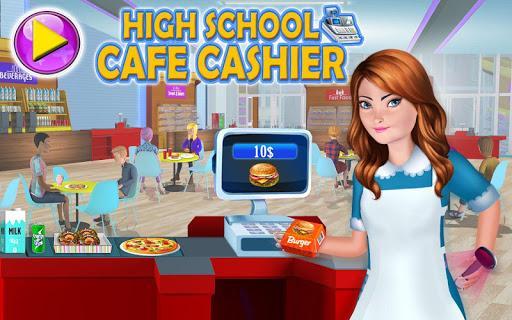 High School Café Cash Register Girl - عکس بازی موبایلی اندروید