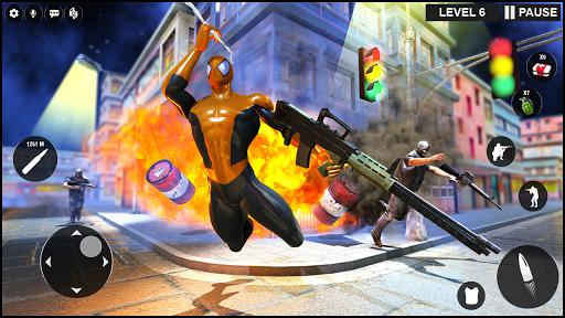 Strange Superhero Ninja Shooter: Gangster Vegas - عکس بازی موبایلی اندروید