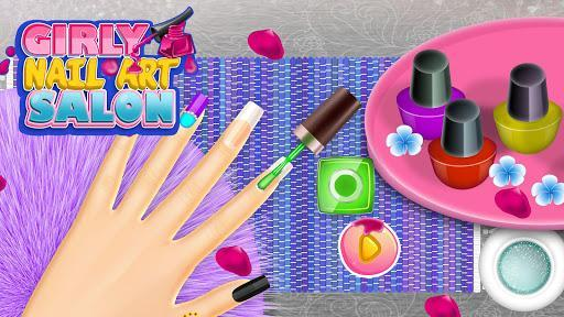 Girly Nail Art Salon: Manicure Games For Girls - عکس بازی موبایلی اندروید