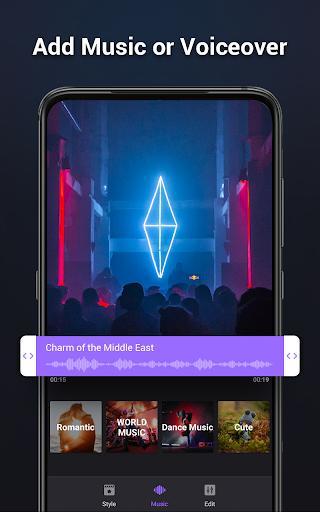 Video Maker Music Video Editor - عکس برنامه موبایلی اندروید