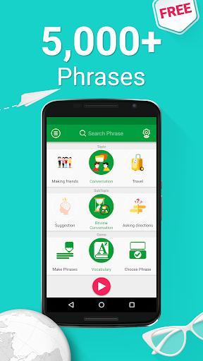 Speak Arabic - 5000 Phrases & Sentences - عکس برنامه موبایلی اندروید