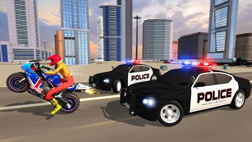 Police Car Vs Theft Bike - عکس برنامه موبایلی اندروید
