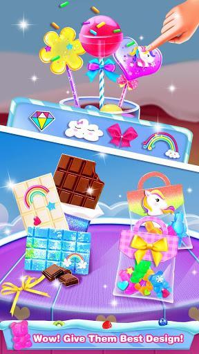 Chocolate Candy Bars - Flavored Candy Sugar Maker - عکس برنامه موبایلی اندروید