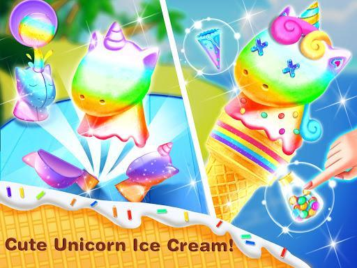Ice Cream Cone& Ice Candy Mania - عکس برنامه موبایلی اندروید