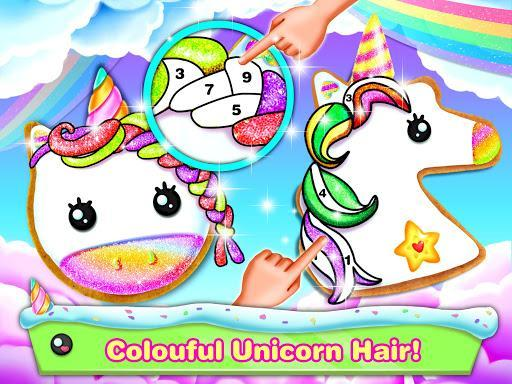 Unicorn Cookie Maker – Bake Cookies Games - عکس برنامه موبایلی اندروید