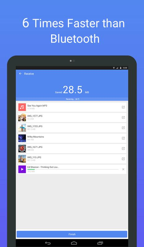 ShareCloud - Share By 1-Click - عکس برنامه موبایلی اندروید