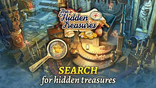 The Hidden Treasures: Find Hidden Objects・Match 3 - عکس بازی موبایلی اندروید