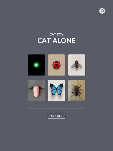 CAT ALONE - Cat Toy - عکس برنامه موبایلی اندروید