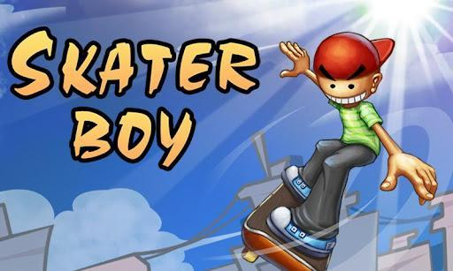 Skater Boy - Gameplay image of android game