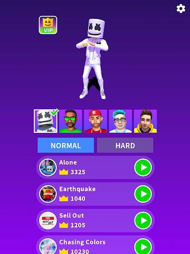 Marshmello Music Dance - عکس بازی موبایلی اندروید