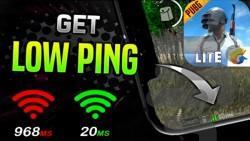 کاهش پینگ و ضد لگ بازی پابجی موبایل - عکس برنامه موبایلی اندروید