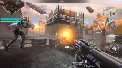 Infinity Ops: Online FPS Cyberpunk Shooter - عکس بازی موبایلی اندروید