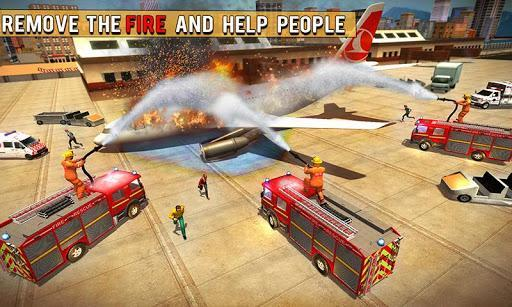 Fire Fighter Truck Real City Heroes - عکس بازی موبایلی اندروید