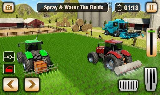 Real Tractor Driving Game - Tractor farming Games - عکس برنامه موبایلی اندروید