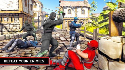 Ninja Assassin SuperHero - Gangster Fighting Games - عکس برنامه موبایلی اندروید