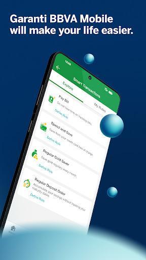 Garanti BBVA Mobile - عکس برنامه موبایلی اندروید