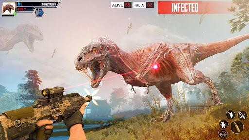 Deadly Dinosaur Hunter Simulator 2021 - عکس برنامه موبایلی اندروید