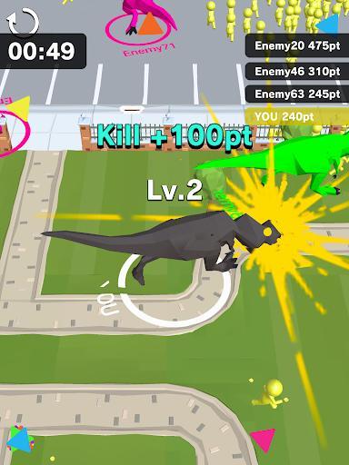 Dinosaur Rampage - عکس بازی موبایلی اندروید