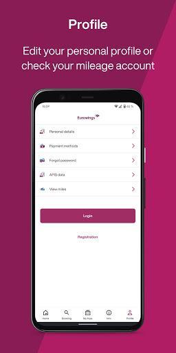 Eurowings - cheap flights - عکس برنامه موبایلی اندروید