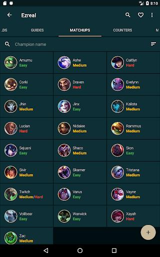 Builds for League of Legends - LoL Catalyst - عکس برنامه موبایلی اندروید