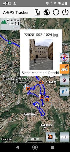A-GPS Tracker - عکس برنامه موبایلی اندروید