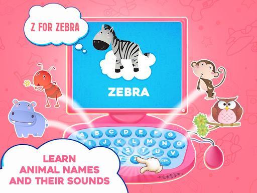 Princess Pink Computer For Girls - عکس بازی موبایلی اندروید