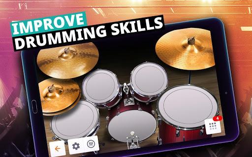 Drum Set Music Games & Drums Kit Simulator – درامز نوازی - عکس بازی موبایلی اندروید