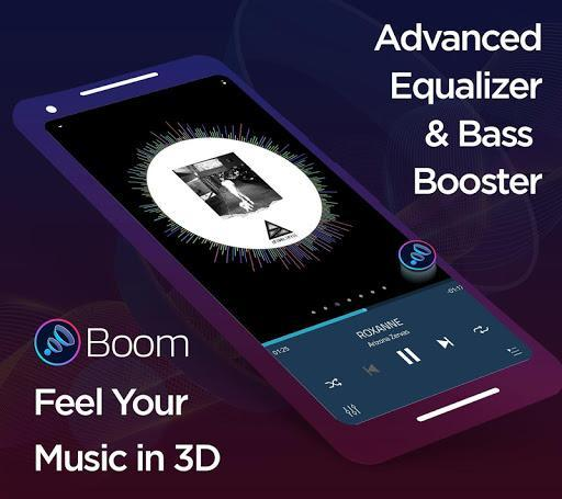 Boom: Music Player, Bass Booster and Equalizer - عکس برنامه موبایلی اندروید