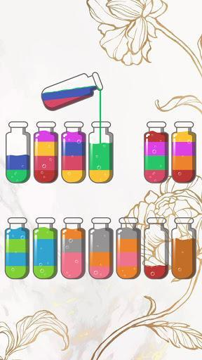 Soda Sort Puzzle: Color Water Game - عکس بازی موبایلی اندروید