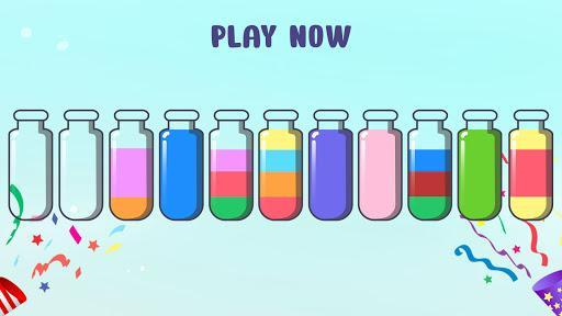 Water Sort Puzzle - Color Sorting Game - عکس بازی موبایلی اندروید