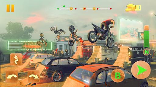 Crazy Biker Extreme Challenge Sky Stunt 3D - عکس برنامه موبایلی اندروید