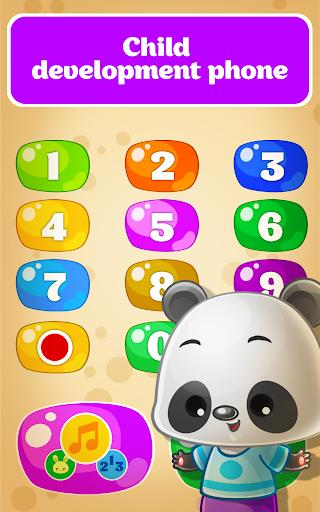 Babyphone for Toddlers - Numbers, Animals, Music - عکس بازی موبایلی اندروید