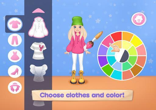 Fashion Dress up games for girls. Sewing clothes - عکس بازی موبایلی اندروید