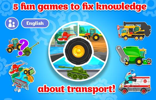 Kids Cars Games! Build a car and truck wash! - عکس بازی موبایلی اندروید