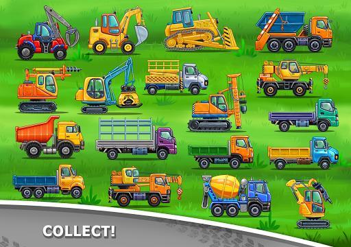Truck games for kids – کامیون برای بچهها - عکس بازی موبایلی اندروید
