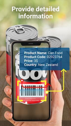 QR Code Reader: QR Scanner & Barcode Scanner - عکس برنامه موبایلی اندروید