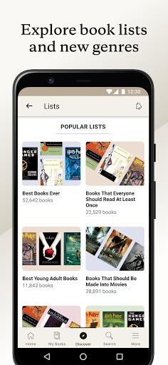 Goodreads - عکس برنامه موبایلی اندروید