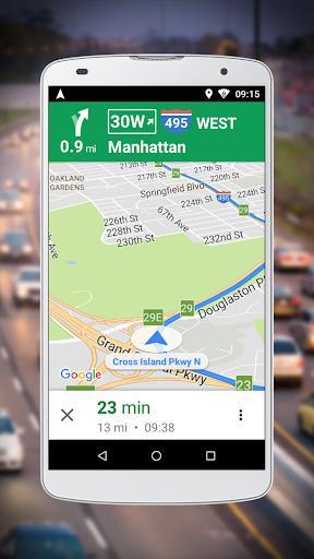 Navigation for Google Maps Go – راهنمای مسیریابی - عکس برنامه موبایلی اندروید