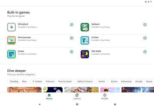 Google Play Games - عکس برنامه موبایلی اندروید