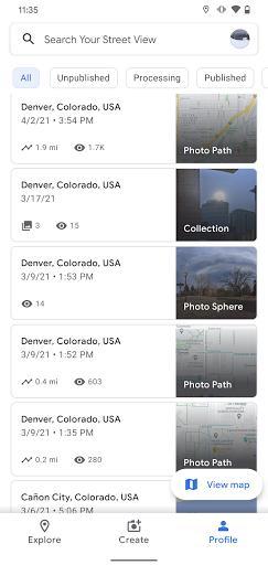 Street View - عکس برنامه موبایلی اندروید