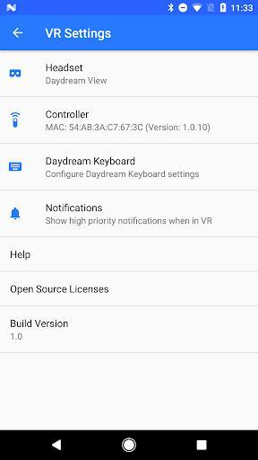 Google VR Services – پخش واقعیت مجازی - عکس برنامه موبایلی اندروید