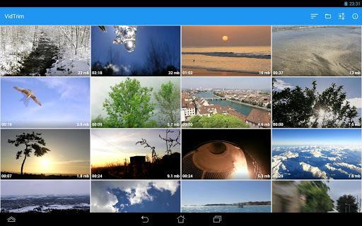 VidTrim - Video Editor - عکس برنامه موبایلی اندروید