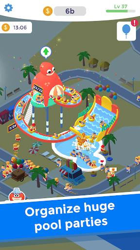 Idle Aqua Park - عکس بازی موبایلی اندروید