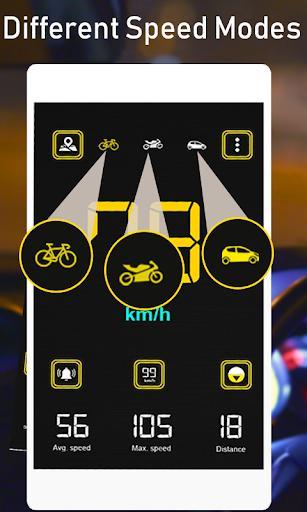 Gps Speedometer: Digital Speed Analyzer & Maps - عکس برنامه موبایلی اندروید